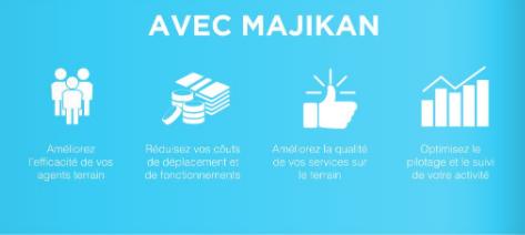 Majikan: Plateforme numérique de gestion des interventions terrain
