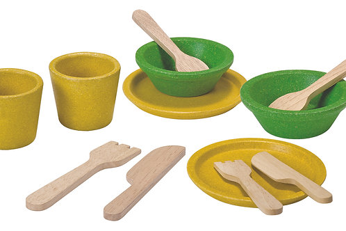 Plan Toys - Tableware Set