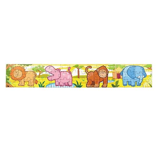 4 - 1 Jungle Wooden  Puzzle