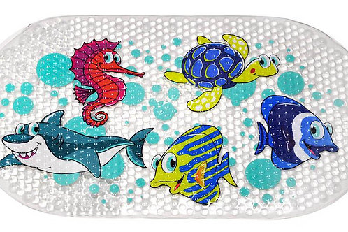 Star and Rose Kids Bathroom Safety Mat ( Sea Creatures )