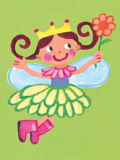 Fairy Princess Card + Gift Wrap