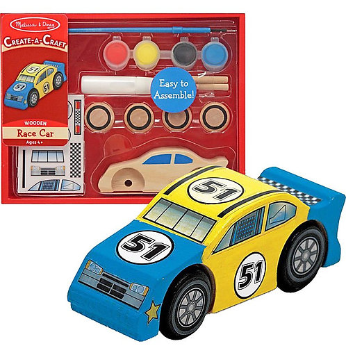 Melissa & Doug - Race Car - DYO