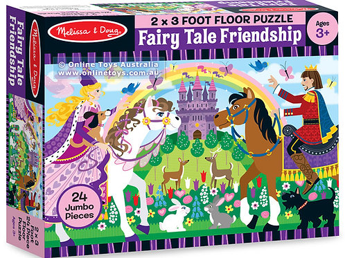 Melissa and Doug - Fairy Tale Friendships Floor Puzzle