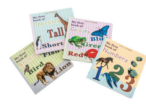 First Learning Books - Set of 4