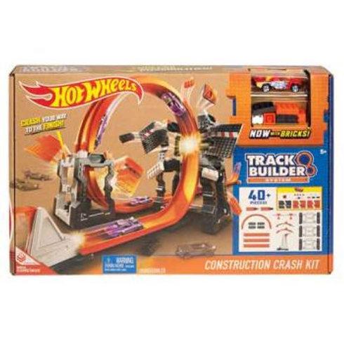 Hot Wheels Track Builder Crash Kit