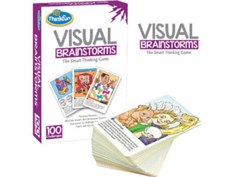 Think Fun - Visual Brainstorms Game