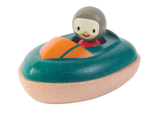 Plan Toys - Speed Boat and Driver