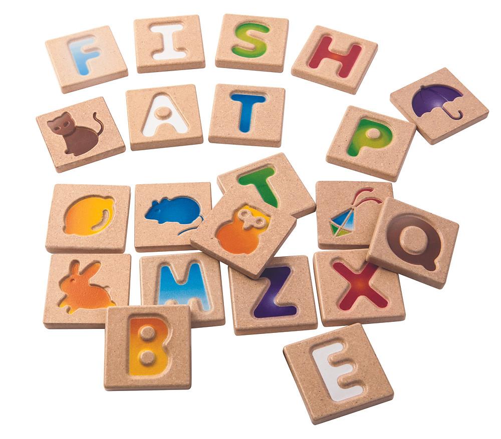 Plan Toys - Alphabet A-Z Puzzle