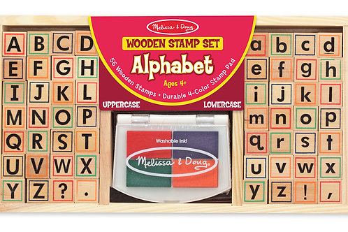 Melissa & Doug - Alphabet Stamp Set