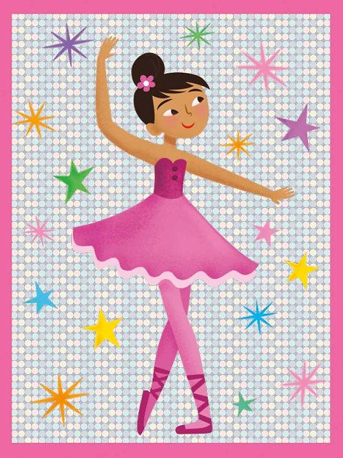 Glitter Dancer Card + Gift Wrap
