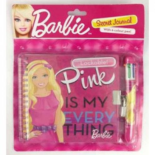 Barbie Lockable Secret Diary