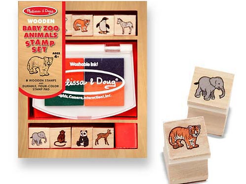 Melissa & Doug – Baby Zoo Animals Stamp Set