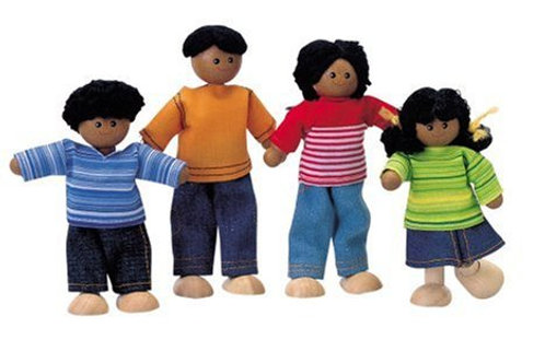 Plan Toys - Doll Family - 4 pieces