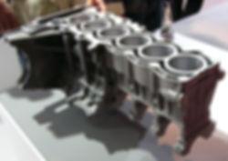 3D scanning an engine block pattern