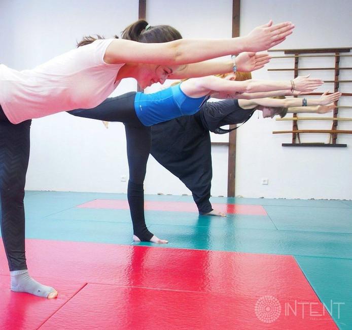 С 1 июня пробные занятия по йоге, айкидо и тенсегрити со скидкой 50%!
