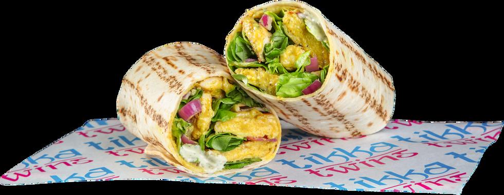 Korma Grilled Chicken Wrap