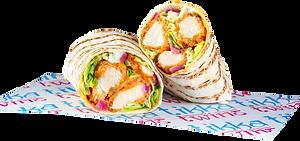 (Tikka Masala) Crispy Chicken Wrap.png