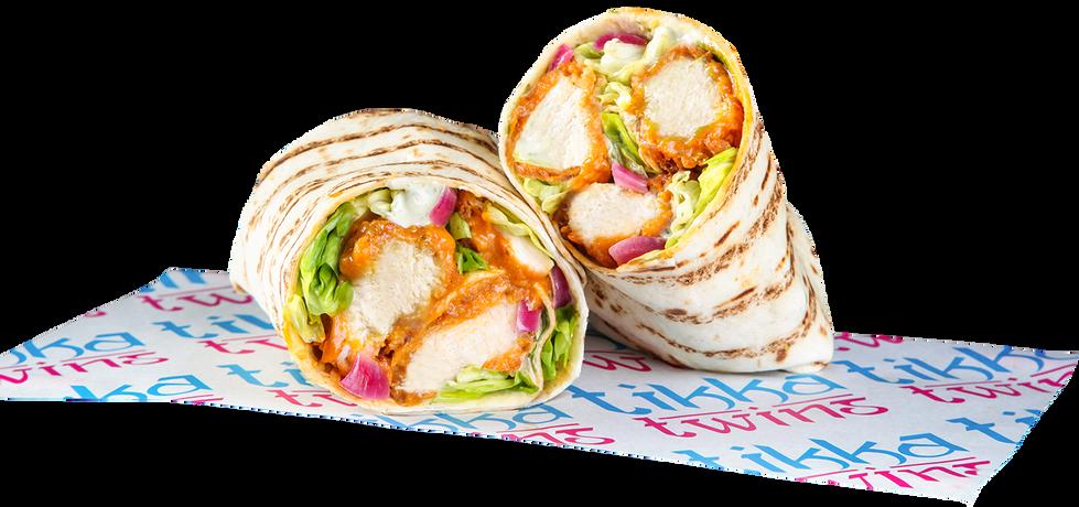 Tikka Masala Crispy Chicken Wrap