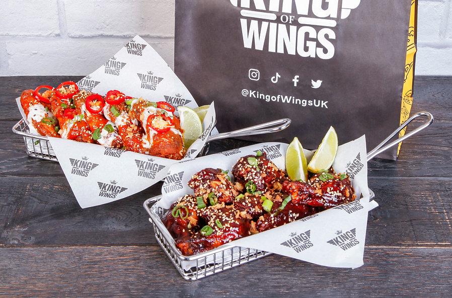 Innovative Eats King of Wings Wicked Wings