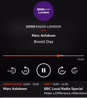 Innovative Eats CEO Suhail Hasan talks about the food market on BBC London podcast