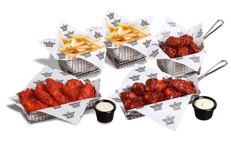 Meal Bundle, chicken, fries and dips