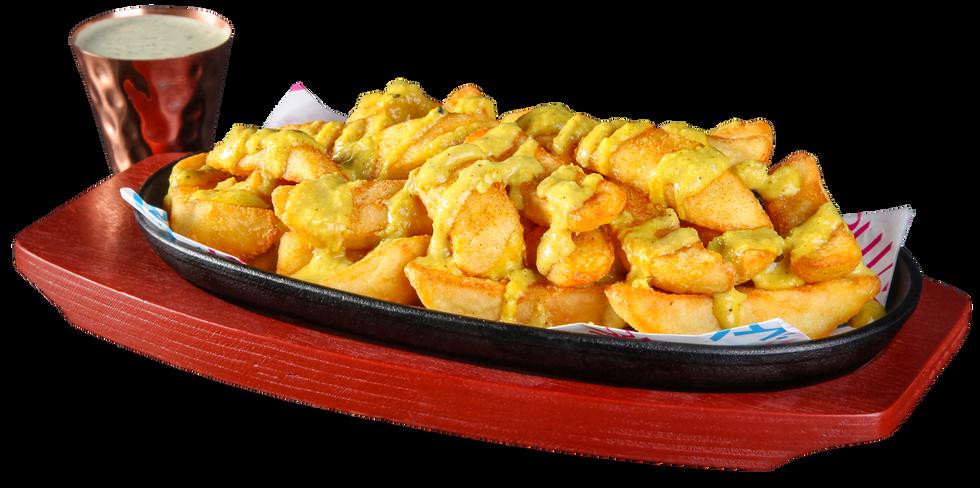 Korma Bombay Fries