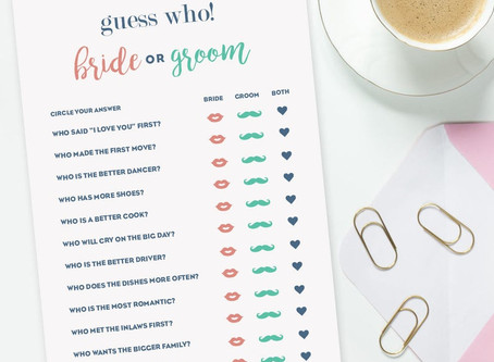 Mr & Mrs Printables'