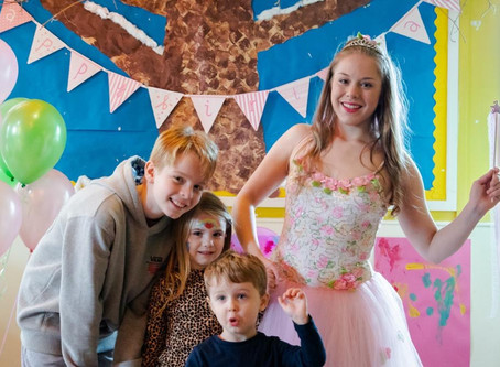 A magical Fairy Themed Kids Party