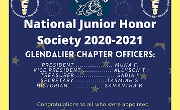 National Junior Honor Society Officers