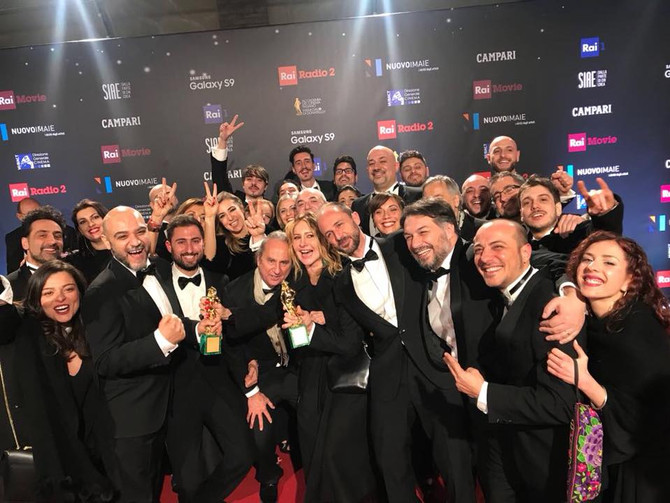 Gatta Cenerentola: best producers and best VFX at David di Donatello 2018