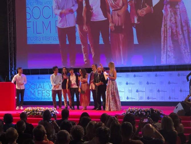 Terra Bruciata (Scorched Earth) wins at the Social World Film Festival 2018
