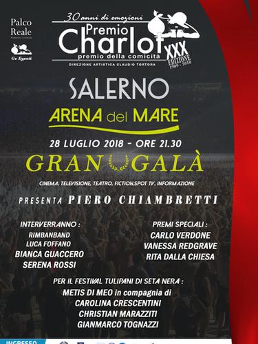Gran Gala Premio Charlot 2018, Presenta Piero Chiambretti
