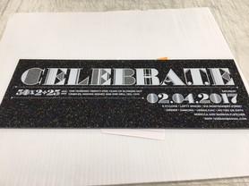 Digital Print Acrylic Invotations