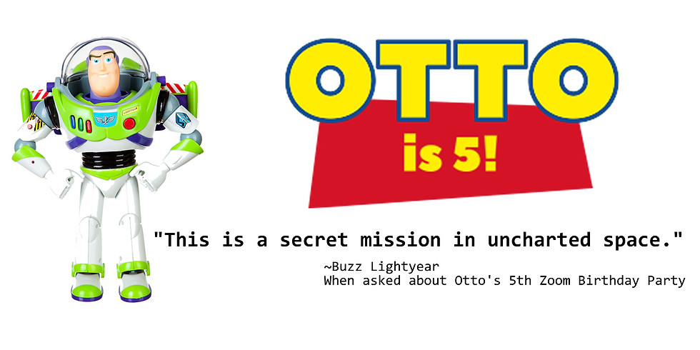 Otto's Zoom Birthday Party