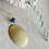 Thumbnail: Double Etched Full Moon Necklace