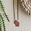 Thumbnail: WI Etched Charm Necklace