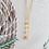 Thumbnail: Peach Moonstone Necklace