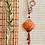 Thumbnail: Antique Copper Square Ruby Necklace