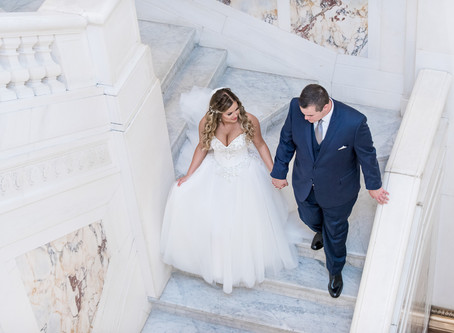 Luxury Summer Wedding at Tabrizi's | Baltimore Wedding Photographer | Laura & Zach