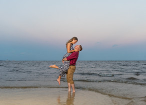 Surprise Beach Proposal - Gulfport Wedding Photographer - New Orleans Wedding Photographer