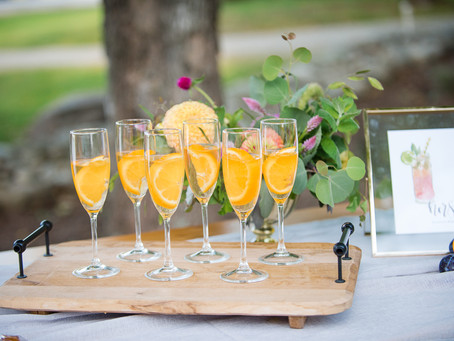 Color Pops and Confetti Drops - Styled Shoot - New Hampshire