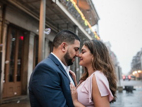 New Orleans Engagement Session| New Orleans Wedding Photographer | French Quarter | Adeepa & Angel