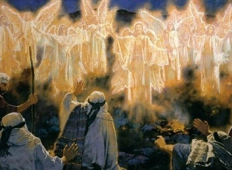 The shepherds returned, glorifying and praising God for all they had seen and heard, just as they ha