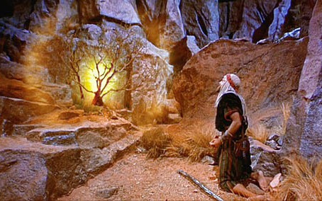 """""""Moses told this to the Israelites, but they did not listen to him because of their broken spirit an"""
