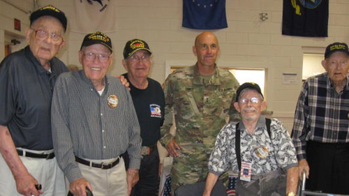 Rose of Sharon Hosts Annual Appreciation Luncheon for Veterans