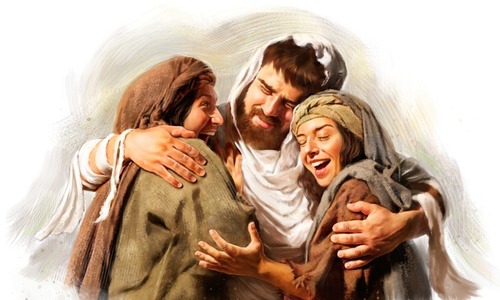 """Friends of Jesus: Martha, Mary and Lazarus"""