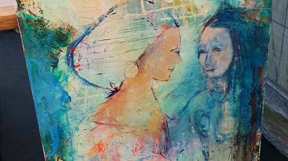 Kunst Maleri / Art Painting  Annelea