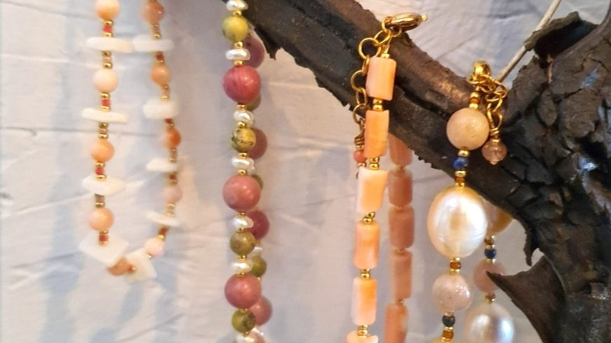 Stil Smykker Armbånd / Style Jewelry Bracelet LIVE A LITTLE
