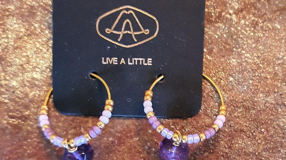 Smykker Stil Øreringe / Jewelry Style Earrings Live a Little