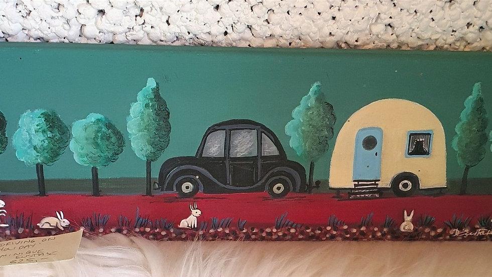 Kunst Maleri / Art Painting By Dominique Eustase